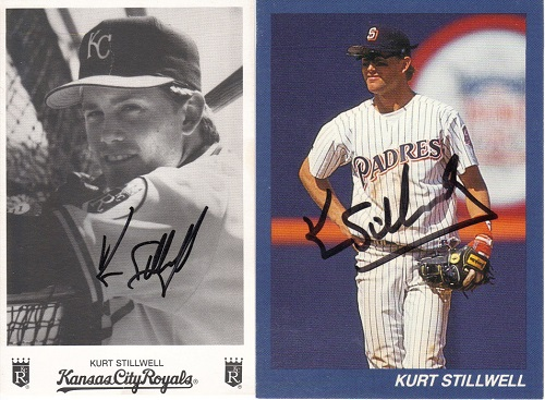 Kurt Stillwell baseball cards