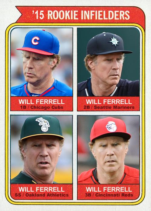 ferrell - rookie infielders