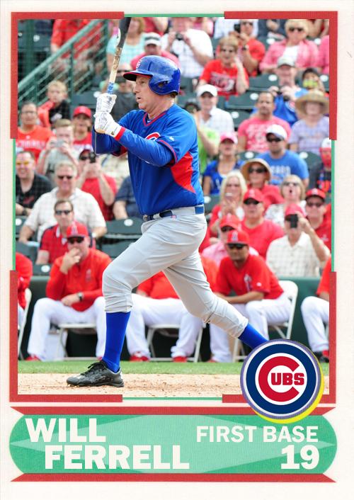 WF-04 Will Ferrell (Cubs)