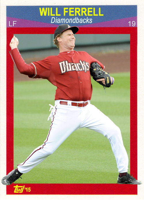 WF-05 Will Ferrell (Diamondbacks)