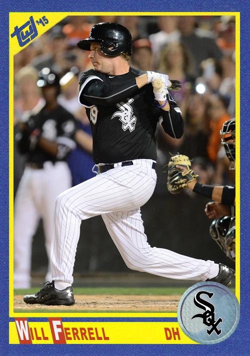 WF-07 Will Ferrell (White Sox)