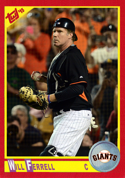 WF-08 Will Ferrell (Giants)