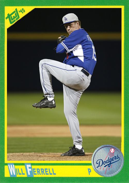 WF-09 Will Ferrell (Dodgers)