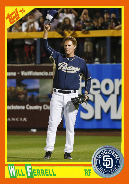 WF-10 Will Ferrell (Padres)