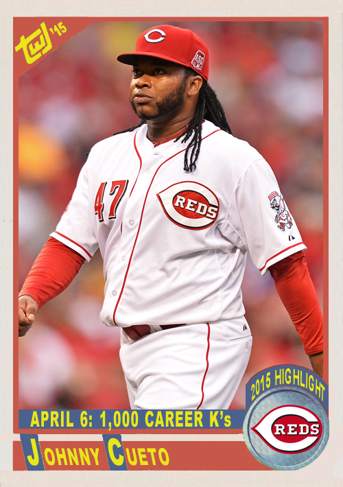 hl02 Johnny Cueto 1000 Ks