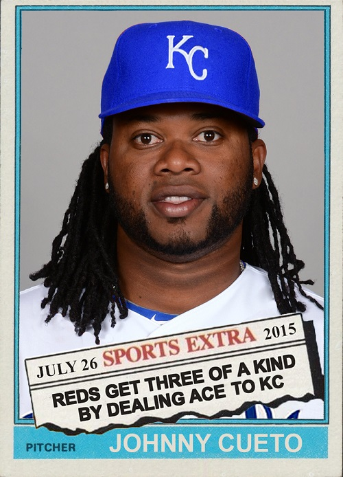 Fun Cards Submission 1976 Topps Traded Johnny Cueto The Writers