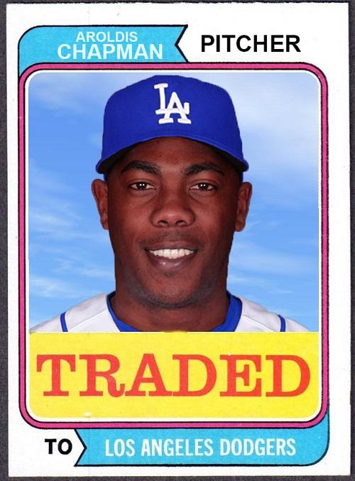 chapman traded
