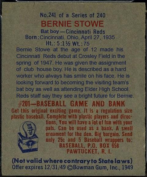 bernie stowe 1949 bowman 2